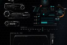 Science Fiction Interfaces / Interface Design