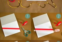 DIY CARD WRAPPING