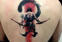tattoos music+schrift
