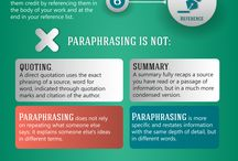 Writing - Paraphrasing