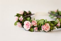 le angelique | flower crowns / Mixed elements.