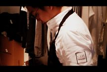 """Yoji Tokuyoshi. La cucina al tempo di Clap Your Hand / Yoji #Tokuyoshi, per 6 anni sous chef dell'Osteria #Francescana di Massimo #Bottura, aprirà il 29 gennaio a Milano in via San Calogero 3, il suo ristorante """"Tokuyoshi"""", Italian contamination cuisin. Cucina italiana, con prodotti locali, ma interpretata con l'occhio di un giapponese con un'ambientazione che cerchi di abbinarsi con il suo stile, anche negli abiti utilizzati dai suoi chef. E' venuto a trovarci al #WhiteMilano per provarsi la sua nuova divisa. Firmata #ClapYourHand"""