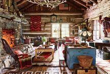 My favorite cabin-interrieurs.....
