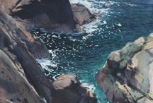 море.скалы.