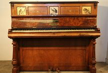 Hand-Painted Pianos / Pianos with Hand- Painted Detail