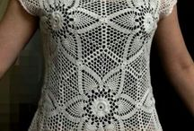 blusas de crochê