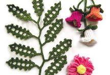 Crochet hojas