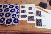 diy: knitting and crochet