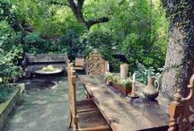 outdoor tablesettings