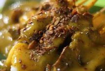Indonesian food / Sate padang