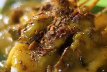Indonesian food / Sate padang