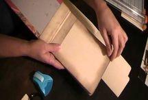 Envelop boekje maken / Envelop boek