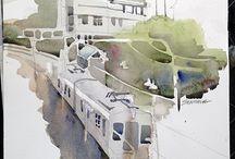 Paisajes urbanos / Pintura de la ciudad