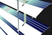 Solar power blinds