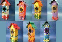 casinhas de passarinhos