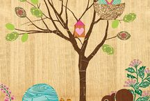 Woodland Nursery / Thoughts and ideas for baby girl's room. / by Melissa Allott