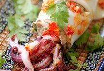 Seafood Squid,Calamares