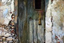 Les murs et les portes