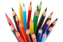 Lápices de colores.