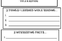Reading/Writing Activities
