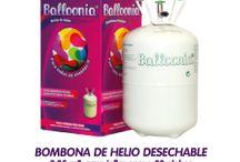 Globos / Distribuidores para andalucia de muchos tipod de globos desde los de latex hasta los de foil para helio