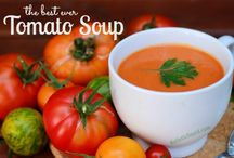 Summer Soups / Gazpacho, tomato soup and watermelon soup, oh my! / by Mommypotamus