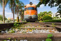 vlaky - Jižní Amerika