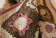 Winter / Crochet bed cover