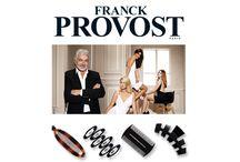 Franck Provost / Francouzský kadeřník Franck Provost otevřel na 2 200 salonů po celém světě a každý rok otevírá zhruba 100 dalších, jen v Paříži má 60 salonů. První salón otevřel již v roce 1975, nabízí tak 35 let zkušeností a kvality. Inspirovat se můžete módními kolekcemi kosmetických a vlasových doplňků této prestižní značky!