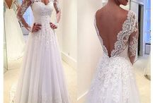 Wedding Dresses / Here are some ideas for wedding dresses, I am currently looking at some dresses in Nordstrom and other stores near me :)