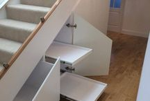 Under Stairs Fitted Wine Rack