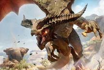 Dragons 2D Concept