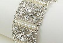 Bridal  jewelry  / Bridal jewelry  Bride jewelry crystal earrings bracelets neckless