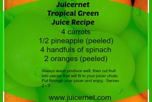 Juicer Recipes / by Missi Eaton