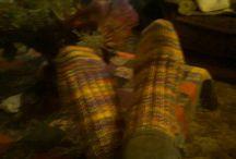 Some knitting