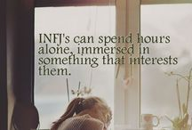 INFJ / Pisces, INFJ, introvert, so on & so forth..