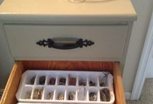 Organization Tips / No clutter & all things in their own place !