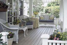 veranda soggiorno / veranda adibita a soggiorno esterno