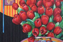Floral Oil Painting