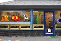 JERMA decoraties / JERMA decoraties met kinderkamer decoraties die toepasbaar zijn in huis of als project op scholen e.d.