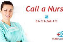 Call a nurse