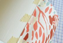How to cover lampshade