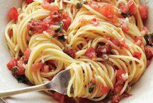 Recipes - Pasta dishes