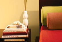 Yellow Rooms / A space painted yellow is often associated with the feelings of optimism and creativity.