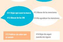 Redes Sociales / #Twitter #Facebook #LinkedIn #Instagram