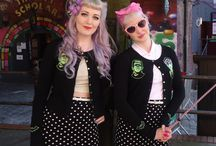 rockabilly and pin up hair