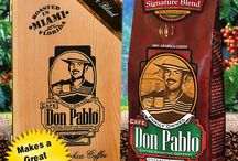 Don Pablo Collectable Gift Box / Our collectible Cafe Don Pablo Gift Box makes a great Father's Day gift! Only 14.99 with a 12 oz. bag of our Specialty Coffee! Available on our website and Amazon.com. http://www.cafedonpablo.com/?p=1093