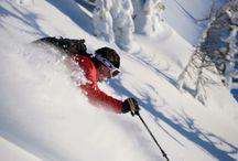 Ski equipment and Nic pics