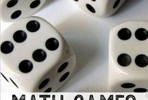 Maths games dice
