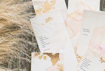 01_Watercolor wedding invitations